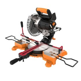 """20V Power Share 7¼"""" Sliding Compound Miter Saw with Work Holding Lever"""