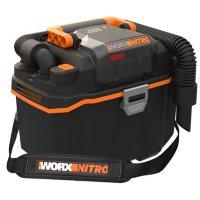 Worx NITRO 20V PowerShare PRO 2.6 Gal Cordless Wet/Dry Vacuum
