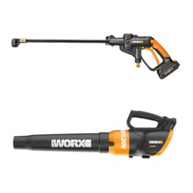 Worx 20V Hydroshot Portable Power Cleaner & 20V Turbine Blower