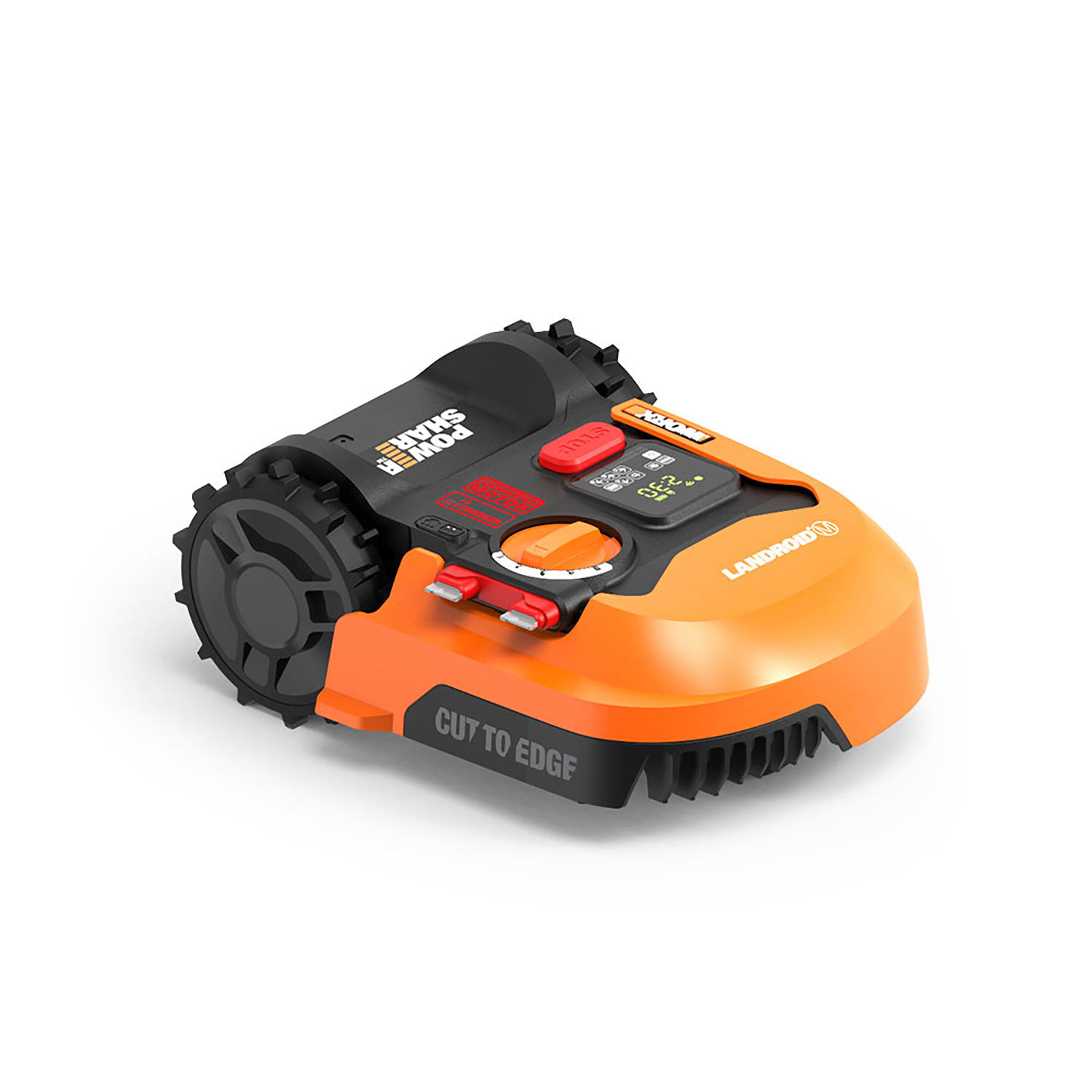 Worx WO7080 Landroid M 20V Cordless Robotic Lawn Mower with Anti Collision Accessory