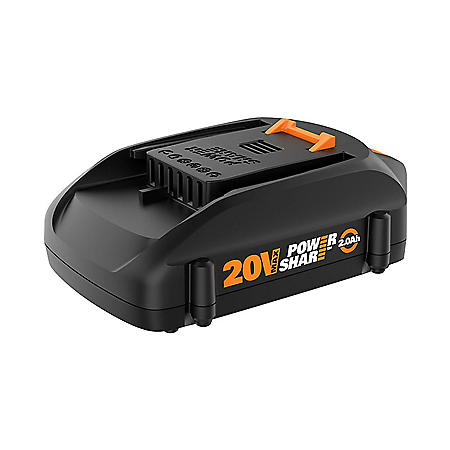 WORX 20V 2.0 Ah Max Lithium-Ion Replacement Battery