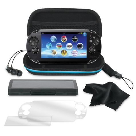 Dreamgear 7-in-1 Starter Kit for the PS Vita