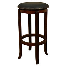 "Patton 30"" Bar-Height Stool - English Tudor"