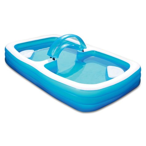 "120"" Summer Escapes™ Inflatable Family Pool"