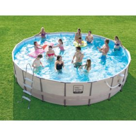 20 Ft Proseries Frame Pool Set With Mosaic Print Original Price 499 00 Sam S Club