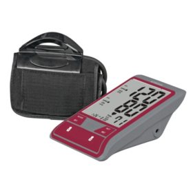 SmartHeart Premium Display Blood Pressure Monitor with Easy Cuff