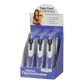 9-Second Flexible Tip Digital Thermometer (9 ct.)