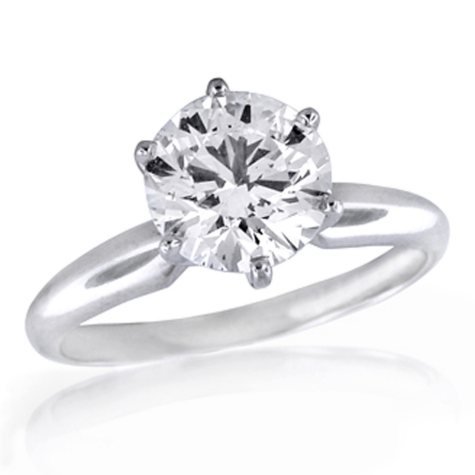 1.50 ct. Premier Diamond Collection Round Diamond Solitaire Ring (G, VS1)