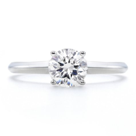 1.30 ct. Premier Diamond Collection Round Diamond Solitaire Ring in 14k White Gold (D, SI2)