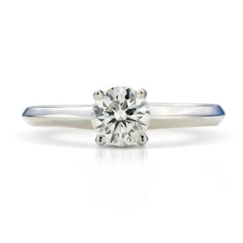 1.02 ct. Premier Diamond Collection Round Diamond Solitaire Ring in 14k White Gold (I, SI1)