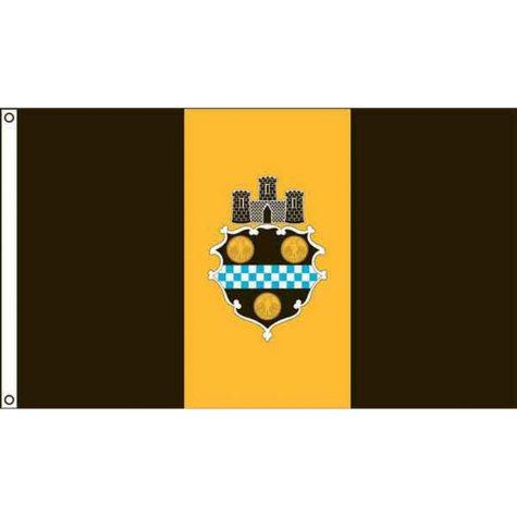 Pittsburgh 3'X5' Nylon Flag
