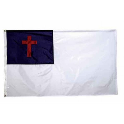 Christian 4'X6' Nylon Flag