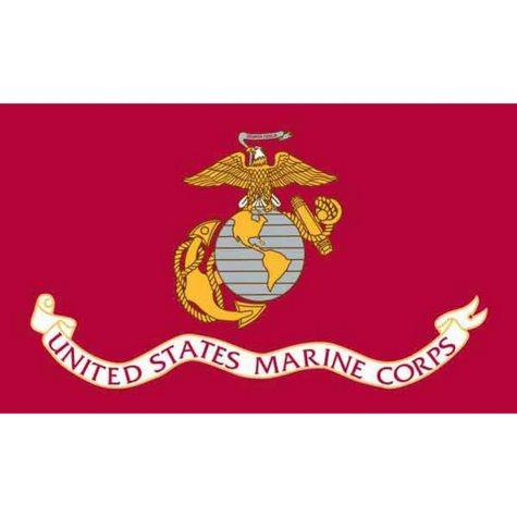 """Mini Marines 4"""" x 6"""" Flag"""
