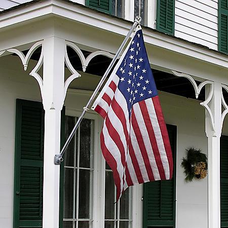 Betsy Flags American Flag Kit, 3x5 ft Perma-nyl Nylon Flag