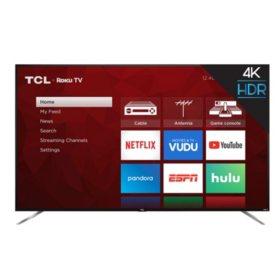 "TCL 75"" Class 4K UHD Roku Smart TV - 75S423"