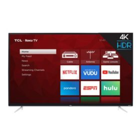 "TCL 43"" Class 4K UHD Roku Smart TV - 43S423"