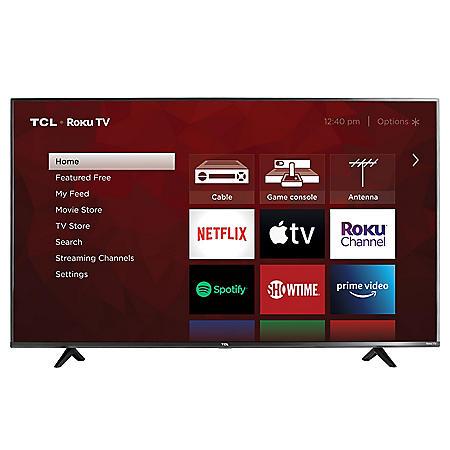 "TCL 43"" Class 4K UHD Roku Smart TV - 43S433"