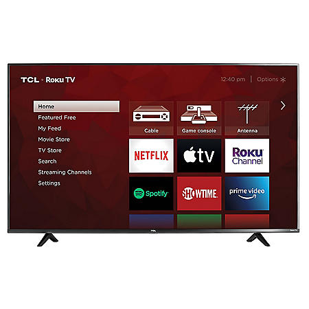 "TCL 50"" Class 4K Ultra HD Roku Smart TV - 50S433"