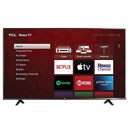"TCL 55"" Class 4K Ultra HD Roku Smart TV - 55S433"