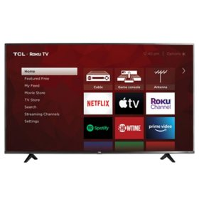 "TCL 65"" Class 4K Ultra HD Roku Smart TV - 65S433"