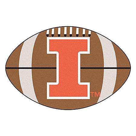 NCAA - University of Illinois Football Mat