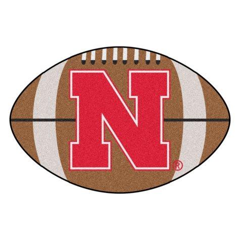 NCAA - University of Nebraska Football Mat