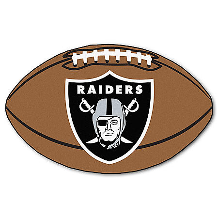 NFL - Oakland Raiders Football Mat