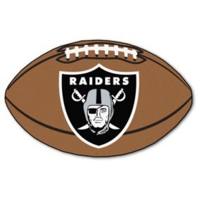 NFL - Oakland Raiders Football Mat