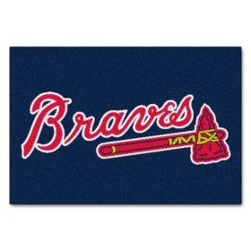 MLB Atlanta Braves Doormat