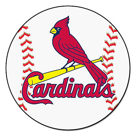 MLB - St. Louis Cardinals Baseball Mat