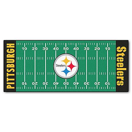 NFL - Pittsburgh Steelers Football Field Runner