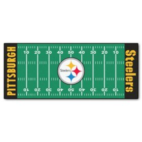 NFL - Pittsburgh Steelers Football Field Runner