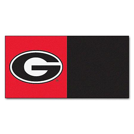 NCAA - University of Georgia Team Carpet Tiles