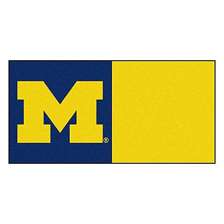 NCAA - University of Michigan Team Carpet Tiles