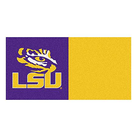 NCAA - Louisiana State University Team Carpet Tiles