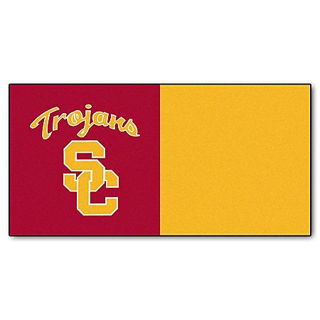 NCAA - University of Southern California Team Carpet Tiles