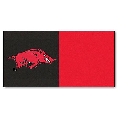 NCAA - University of Arkansas Team Carpet Tiles