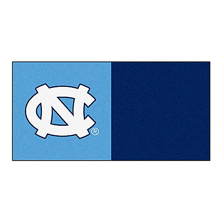 NCAA - University of North Carolina - Chapel Hill Team Carpet Tiles