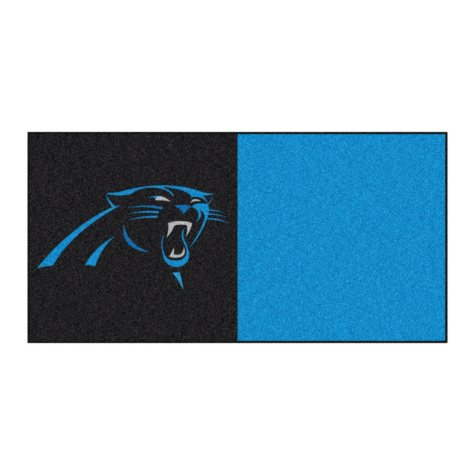 NFL - Carolina Panthers Team Carpet Tiles