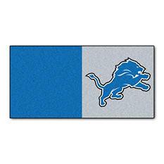 NFL - Detroit Lions Team Carpet Tiles