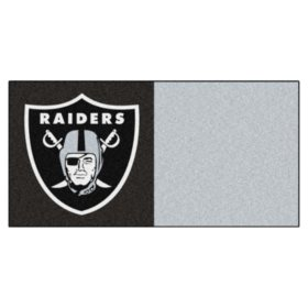 NFL - Oakland Raiders Team Carpet Tiles