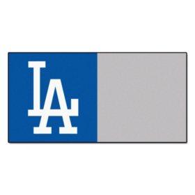 MLB - Los Angeles Dodgers Team Carpet Tiles