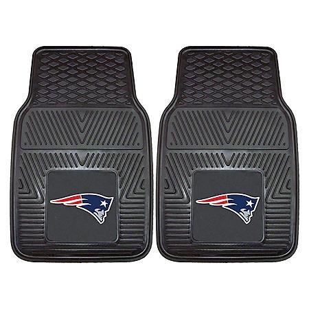 NFL - New England Patriots 2-pc Vinyl Car Mat Set