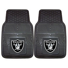 NFL - Oakland Raiders 2-pc Vinyl Car Mat Set