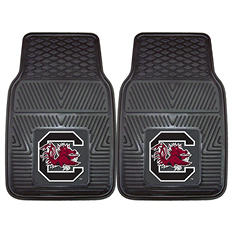 NCAA - University of South Carolina 2-pc Vinyl Car Mat Set