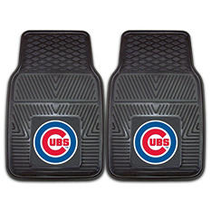 MLB - Chicago Cubs 2-pc Vinyl Car Mat Set