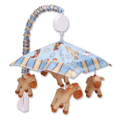 Trend Lab Musical Mobile - Cowboy Baby
