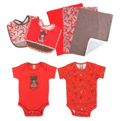 Trend Lab Baby Gift Set - Bear - 7 pc.