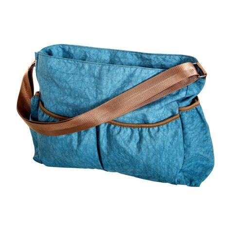 Trend Lab Crinkle Tote Diaper Bag, Blue