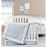 Trend Lab 3-Piece Crib Bedding Set, Blue Sky